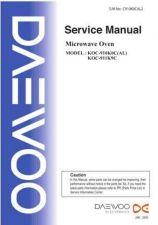 Buy Daewoo. C910K0CAL1. Manual by download Mauritron #212607