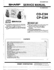 Buy Sharp CDC3H-CPC3H (1) Service Manual by download Mauritron #208473
