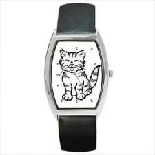 Buy Cute Tabby Kitten Kitty Cat Unisex Wrist Watch