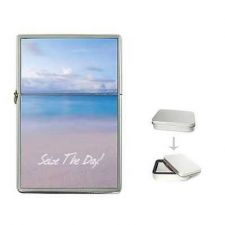 Buy Seize The Day Quote Beach Cigarette Flip Top Lighter