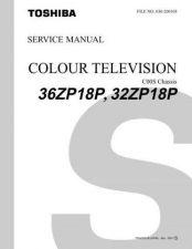 Buy TOSHIBA 32ZD98GTXT Service Schematics Service Information by download #114082