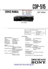 Buy Sony CDP-497 Service Manual by download Mauritron #237233