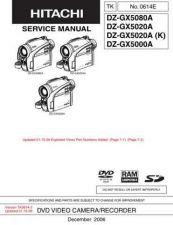 Buy Hitachi DZMV238EAU-2 Service Manual by download Mauritron #261902