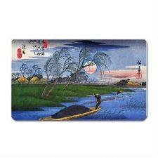 Buy Ando Hiroshige Japanese Fishermen Art Vinyl Fridge Magnet