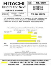 Buy Hitachi PA-0198 Service Manual by download Mauritron #263665