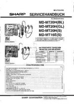 Buy Sharp MDMT20H-16E SM DE(1) Service Manual by download Mauritron #210046