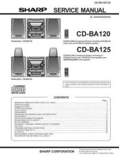 Buy Sharp CDBA160H-1700H SM DE(1) Service Manual by download Mauritron #208411