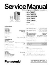 Buy Panasonic MD0611352SE Service Manual by download Mauritron #267813