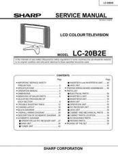 Buy Sharp LC20B2EA (1) Service Manual by download Mauritron #209885