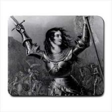Buy St Joan Of Arc Patron Saint Of Military Computer Mouse Pad