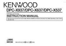 Buy Kenwood DPF-J3030 Operating Guide by download Mauritron #221076