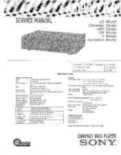 Buy Sony CDP-X77ES Service Manual by download Mauritron #231691