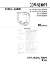 Buy Sony GDM-5010PT Service Manual by download Mauritron #240796