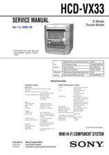Buy Sony HCD-V909AV Service Manual by download Mauritron #241293