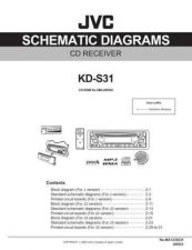 Buy JVC KD-S31J sch Service Manual Schematic Circuit. by download Mauritron #271493