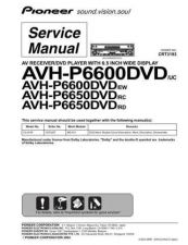 Buy Pioneer C3193 Manual by download Mauritron #227533