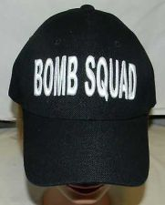 Buy new without tags bomb squad police velcro snap back adult baseball hat