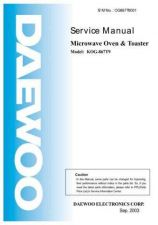 Buy Daewoo. OG6CDB3001. Manual by download Mauritron #213119