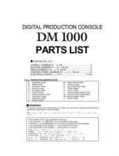 Buy JVC DM1000 PL1 Service Manual by download Mauritron #250513