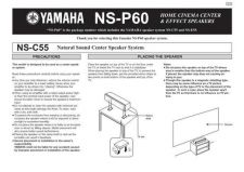 Buy Yamaha NS-P300 Operating Guide by download Mauritron #249020