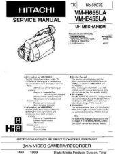 Buy Hitachi VMH655LA Manual by download Mauritron #225687