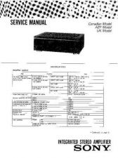 Buy Sony TA-F550ES Service Manual. by download Mauritron #245281