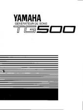 Buy Yamaha TG500F 2 Operating Guide by download Mauritron #250074