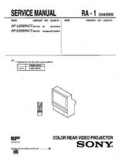 Buy Sony KP-53XBR300 Service Manual. by download Mauritron #242135
