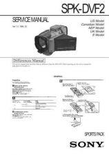 Buy Sony SPK-HCA Service Manual. by download Mauritron #244334