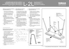 Buy Yamaha L2LE Operating Guide by download Mauritron #248316