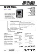 Buy Sony HCD-RG220 Service Manual by download Mauritron #241244