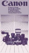 Buy CANON CANONPRODUCTSGUIDE1985 FD CAMERA INSTRUCTIONS by download #118425