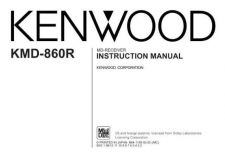 Buy Kenwood KMD-860R Operating Guide by download Mauritron #219196