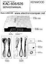 Buy Daewoo Kenwood KAC-606 Manual by download Mauritron #226192