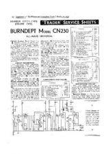 Buy BURNDEPT CN230 SERVICE I by download #105480