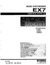 Buy Yamaha EX5 PCB3 C Manual by download Mauritron #256921