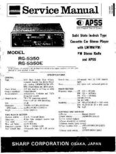 Buy Sharp SG5350-E Service Manual by download Mauritron #210609