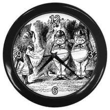 Buy Tweedle Dee Tweedle Dum Alice In Wonderland Wall Clock