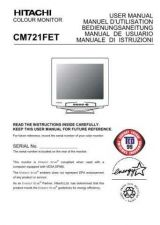 Buy Fisher CM721FET DE Service Manual by download Mauritron #214994