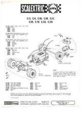 Buy Scalextrix No.00S17 Lamborghini GT Service Sheets by download Mauritron #206302