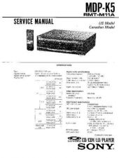 Buy Sony MDP-MR1 Service Manual. by download Mauritron #242452
