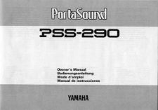 Buy Yamaha PSS290E Operating Guide by download Mauritron #249455