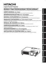 Buy Hitachi EDX3280AT EN Manual by download Mauritron #225120