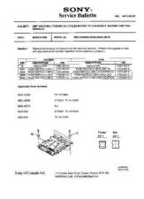 Buy Sony MDS-W1 service manual Technical Manual. by download Mauritron #242733