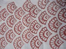 Buy 5Yards Indian Hand Made pure cotton fabric hand block printed jaipur fabrics