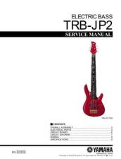 Buy Yamaha TRBJP2 E Information Manual by download Mauritron #259764