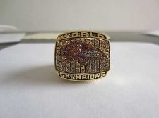 Buy 2000 SUPER BOWL XXXV CHAMPIONSHIP RING Baltimore ravens 11S NIB
