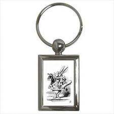Buy Alice In Wonderland Queen Of Hearts Rabbit Herald Key Chain