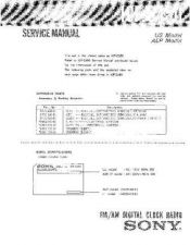 Buy Sony ICF-C400 Service Manual by download Mauritron #232121