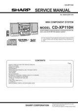 Buy Sharp CDXP110H Service Manual by download Mauritron #208696